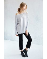 Truly Madly Deeply - Jennie Off-the-shoulder Sweatshirt - Lyst