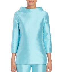 Michael Kors | Silk & Wool Tunic | Lyst