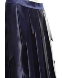 Georgia Hardinge - Blue Emblem Knee Length Skirt - Sold Out - Lyst