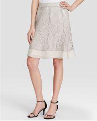 NIC+ZOE - Heirloom Flowers Lace Skirt - Lyst