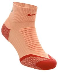Nike - Elite Running Cushion Qtr Sock - Lyst