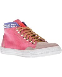 HTC Hollywood Trading Company - Journey High-Top Sneakers - Lyst