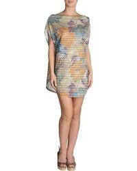 Marzia Genesi Sea Beach Dress - Lyst