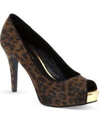 Nine West Camya2 Open Toed Heels - Lyst