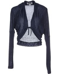 MiH Jeans Wrap Cardigans blue - Lyst