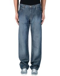 1560bd14 Denim Trousers - Blue