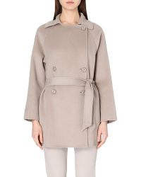 Armani Wool And Cashmere-Blend Coat - For Women - Lyst