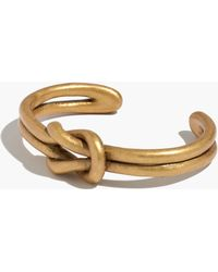 Madewell Knotshine Cuff Bracelet - Lyst