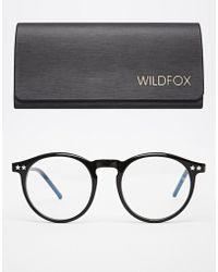 Wildfox Steff Round Glasses - Lyst