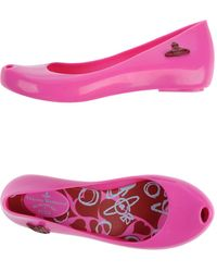 Vivienne Westwood Anglomania Vivienne Westwood Anglomania  Melissa Ballet Flats - Lyst
