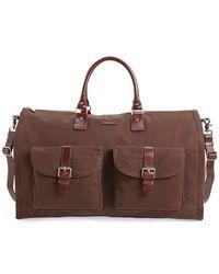 Hook + Albert - Canvas Garment/duffel Bag - Lyst