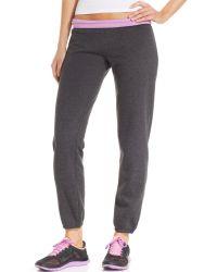 Calvin Klein Performance Foldover Cuffed Sweatpants - Lyst