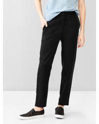 Gap Tencel® Jogger Pants - Lyst