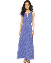 Maison Scotch Summer Maxi Dress - Multi - Lyst