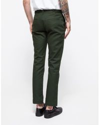 General Assembly - Green Washed Twill Pant - Lyst