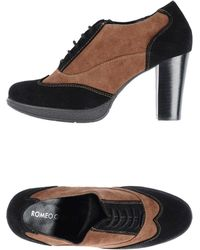 Romeo Gigli Laceup Shoes - Lyst