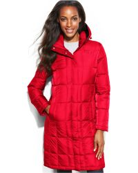 The North Face Hooded Metropolis Down Coat - Lyst