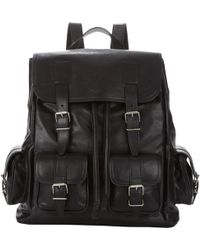 Saint Laurent Classic Backpack black - Lyst