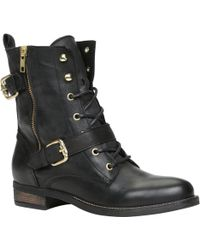 Aldo Cypria Lace Up Ankle Boots - Lyst