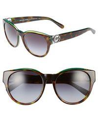 Michael Kors Collection 54Mm Retro Sunglasses - Lyst