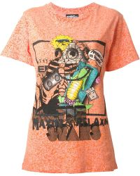 Jeremy Scott Printed 'Maxin & Relaxn' T-Shirt - Lyst