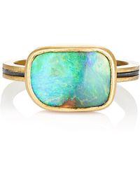 Judy Geib - Women's Boulder Opal Ring - Lyst