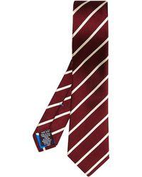 Paul Smith Diagonal Stripe-jacquard Silk Tie - Lyst