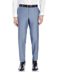 Sand - Light Blue Two-Piece Wool Suit - Lyst