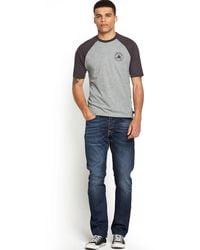 Converse Chuck Patch Raglan T-Shirt - Lyst