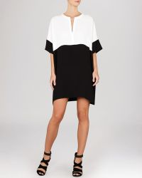 BCBGMAXAZRIA Tunic Dress - Inessa Color Block - Lyst