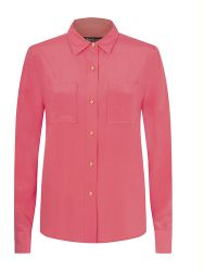 Juicy Couture Sloane Blouse - Lyst