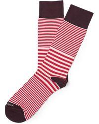 Etiquette Sailor Stripe Socks - Lyst