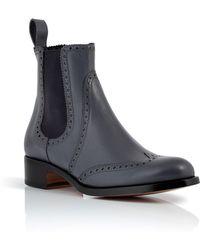 Rupert Sanderson Leather Saymara Chelsea Boot - Lyst