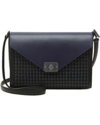 Mulberry Delphie Woven-Leather Shoulder Bag - Lyst