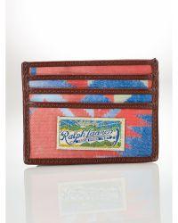 Ralph Lauren Southwestern Card Case - Lyst