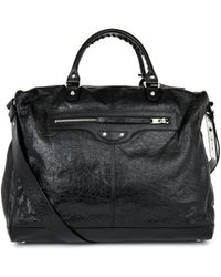 Balenciaga Frame Weekend Bag - Black