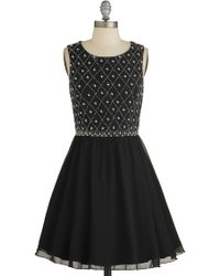 ModCloth | Night in Shining Glamour Dress | Lyst