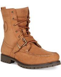 Polo Ralph Lauren Ranger Boots - Lyst
