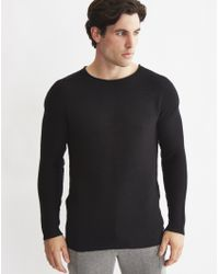 Only & Sons | Mens Oversized Pullover With Drop Shoulder Black | Lyst