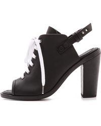 Rag & Bone Trafford Heel Sandals Black - Lyst