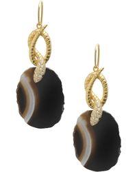Isharya - Golden Snake Earrings 18K - Lyst