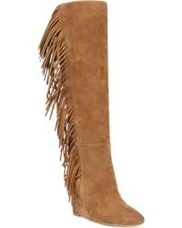 Denim & Supply Ralph Lauren Denim  Supply Darcie Fringe Tall Boots - Lyst