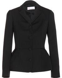 RED Valentino Tailored Blazer - Lyst