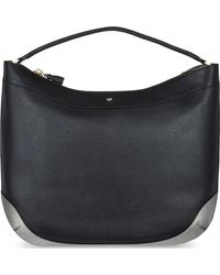 Anya Hindmarch Cooper Calfleather Tote Black - Lyst