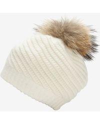 Annabelle New York - Holly Fur Pom Pom Hat - Lyst