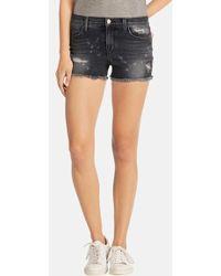 J Brand 'Mia' Denim Cutoff Shorts - Lyst