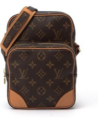 Louis Vuitton Brown Amazone Shoulder Bag - Lyst