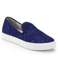 Ash Illusion Lace Slip-On Sneakers - Lyst