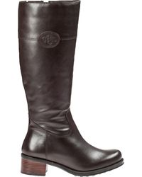 Andre Assous Legendary Riding Boot Chocolate Leather - Lyst