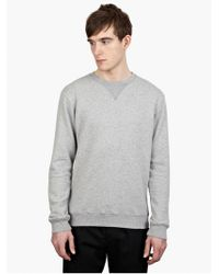 Maison Margiela 14 Men'S Grey Cotton Sweatshirt - Lyst